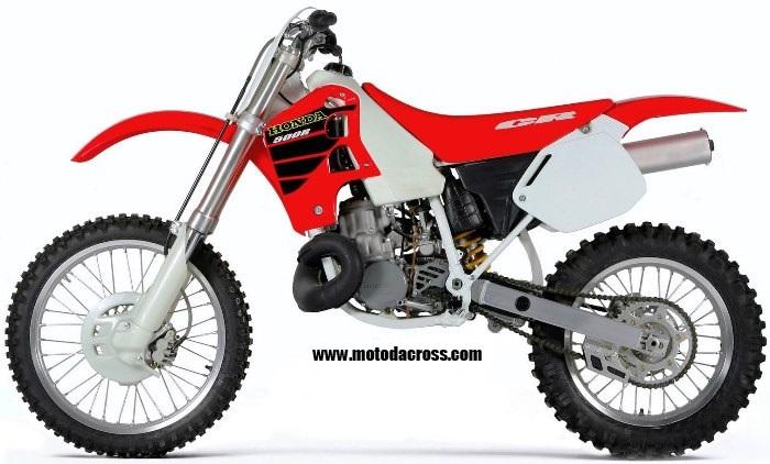 Honda cr 500 tutti gli anni di produzione for Honda cr 500