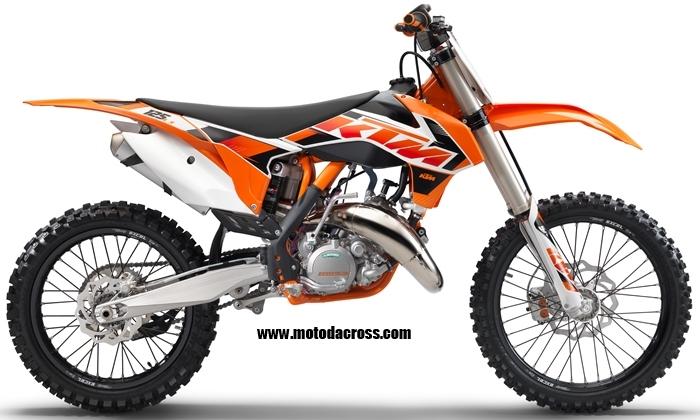 ktm 125 2016 cross idea de imagen de motocicleta. Black Bedroom Furniture Sets. Home Design Ideas