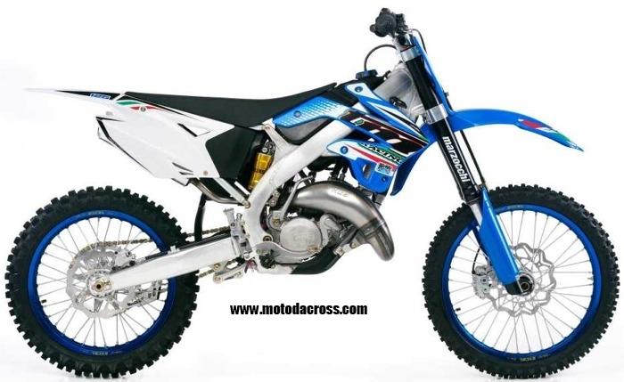 TM Racing MX125 tutti gli anni di produzione